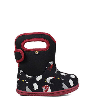 Kids Bogs Farm 72298 Black