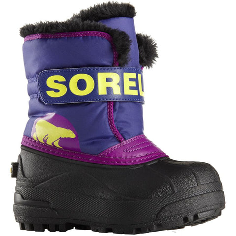 Kids Sorel Snow Commander Grape Plum
