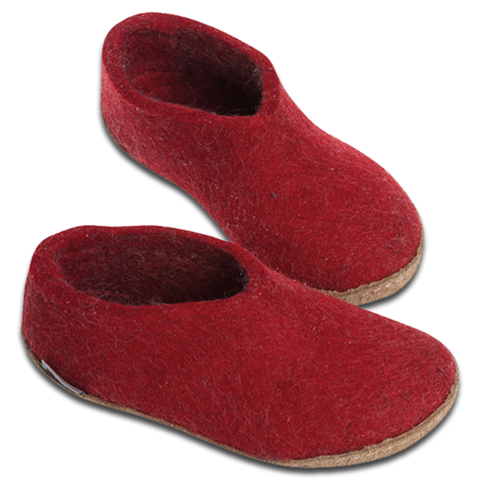 Glerups Kids Shoe Red