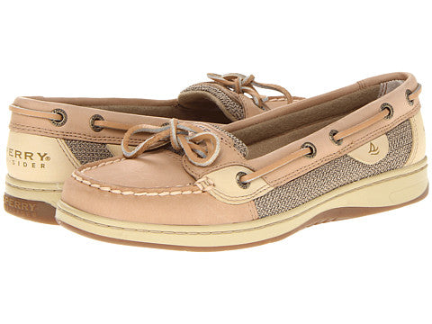 Sperry Ladies Angel Fish Linen Oat