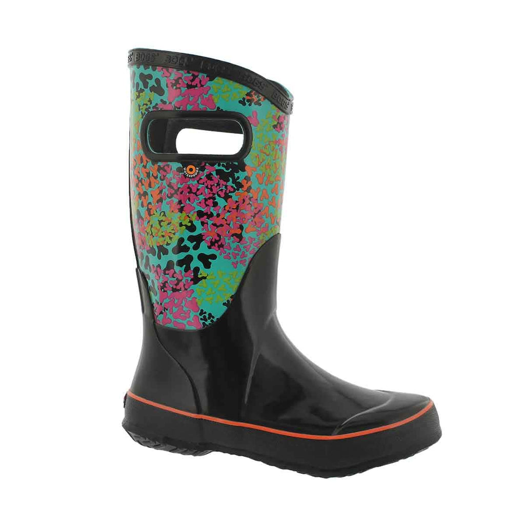 Bogs RainBoots Foot Prints