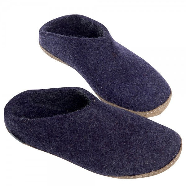 Glerups Ladies Slipper Purple