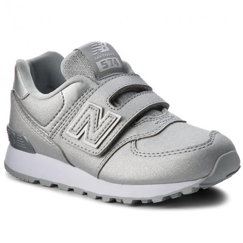 New Balance YV574KS Silver