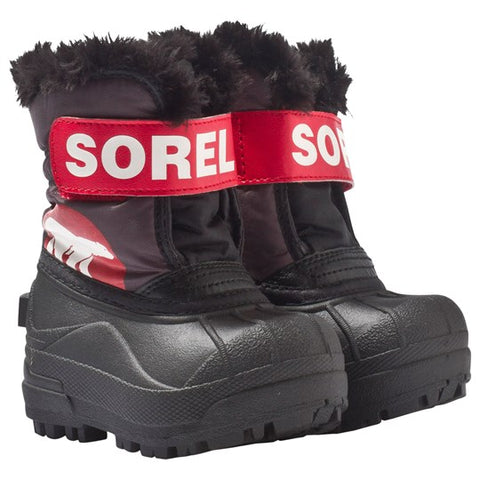Sorel Snow Commander Gray Red