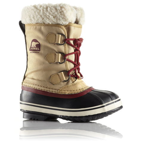 Sorel Yoot Pac Nylon 1638021 Curry Red