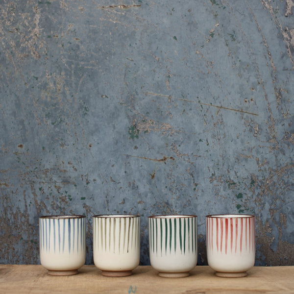 Uka Stripe Cup | Potch | Ethical, Fairtrade, Local