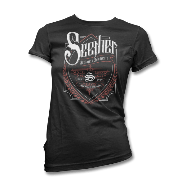 Beer Label  T-shirt - Women's - Seether Official Store - 1