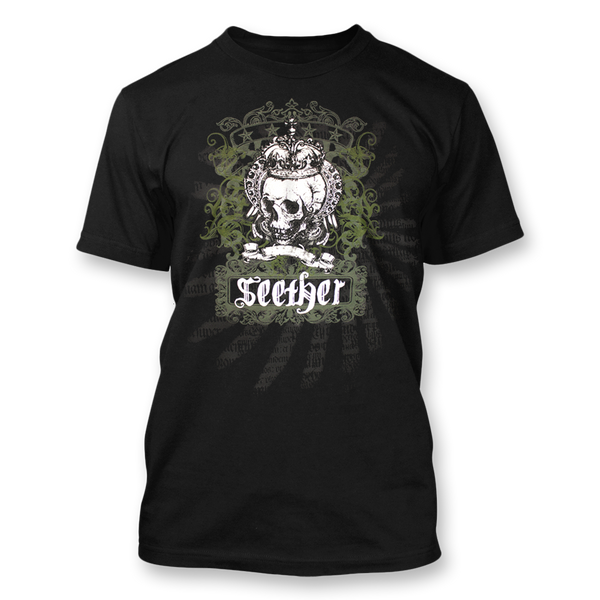 Crown Skull Banner T-Shirt