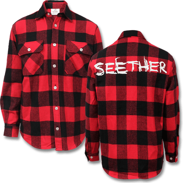 Seether Logo Flannel - Seether Official Store - 1