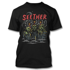 Mind Control T-shirt - (Limited) - Seether Official Store - 1