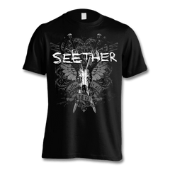 Suffer T-shirt - Men's - Seether Official Store - 1
