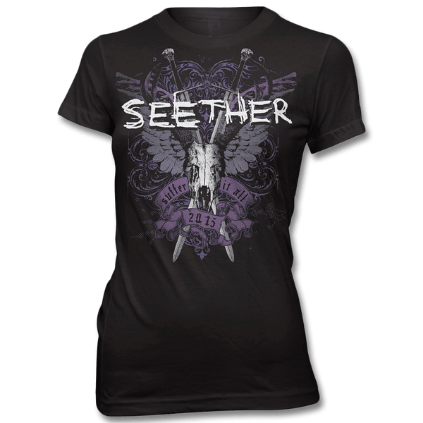 Suffer T-shirt - Women's - Seether Official Store - 1