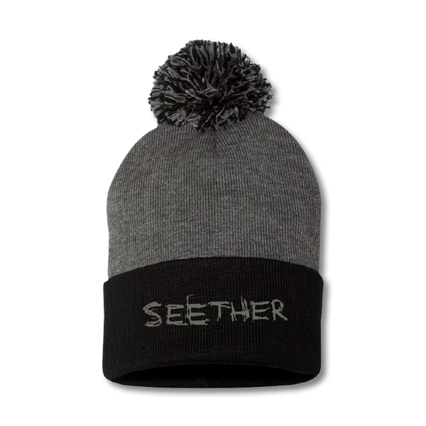 Official Seether Embroidered Logo Beanie