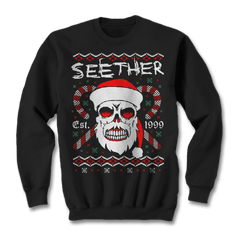 Bad Santa Holiday Crewneck Sweater - Seether Official Store - 1