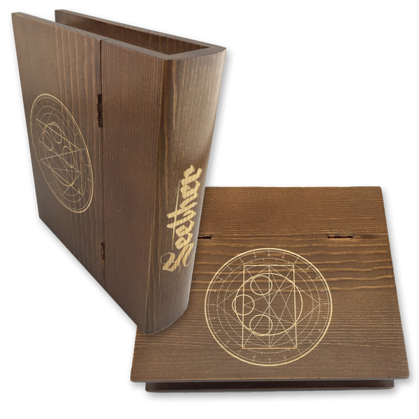 Wooden Book Stash Box