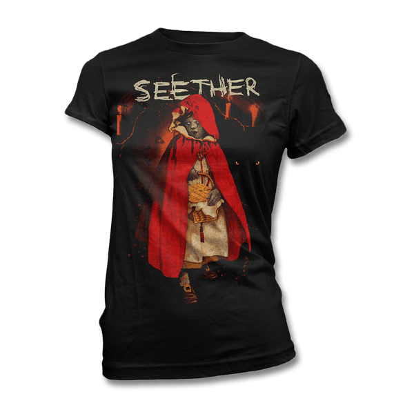 Red Riding Hood T-shirt - Women's - Seether Official Store - 1