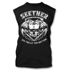 See You At The Bottom Muscle Tank - Men's - Seether Official Store - 1