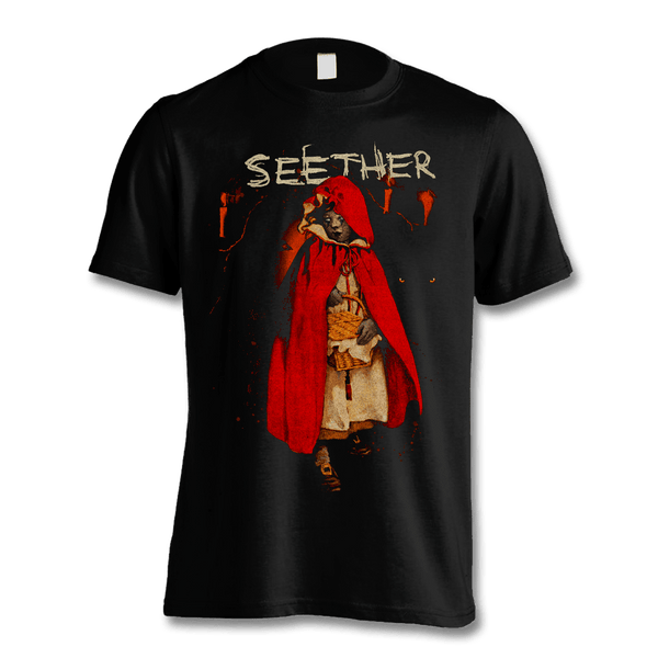 Red Riding Hood T-shirt - Men's - Seether Official Store - 1