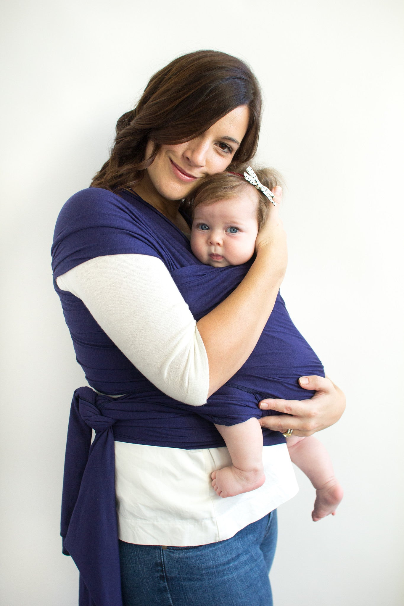 Navy Blue Baby Wrap-Solly Baby Wrap-Keep em Close