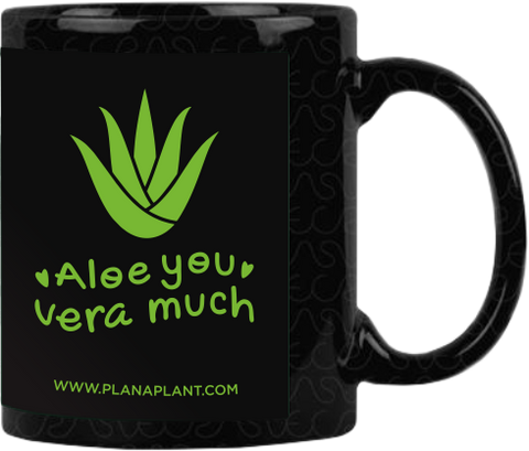 'Aloe you vera much' Coffee Mug