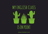 'My English Class is On Point' Gift Card