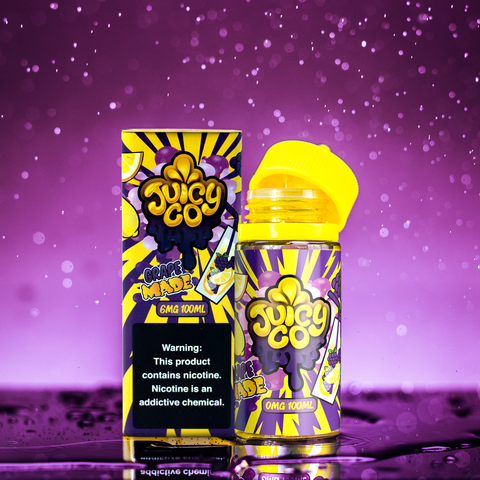 Juicy Co - Grape Made - 100ml