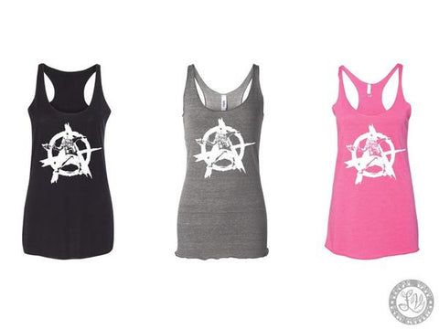 "Anarchist - Women's ""A"" Logo Tank"