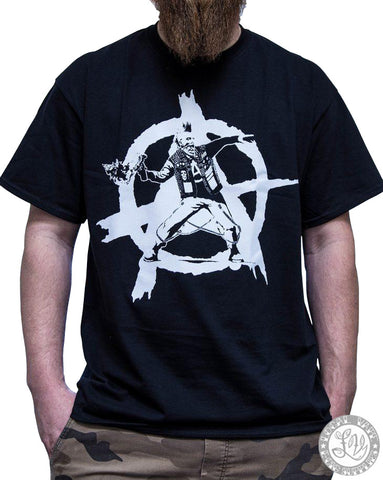 ANARCHIST LOGO T SHIRT
