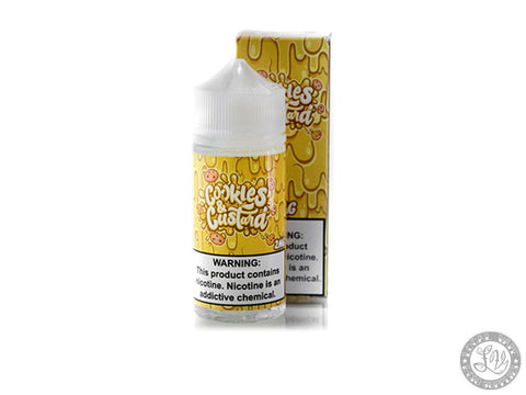 Cookies & Custard - Vaper Treats - 100ml