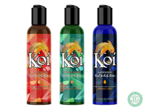 Koi CBD Hemp Oil Lotion