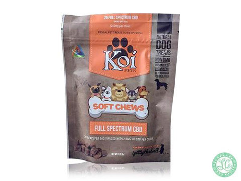 KOI Soft Chews CBD Dog Treats
