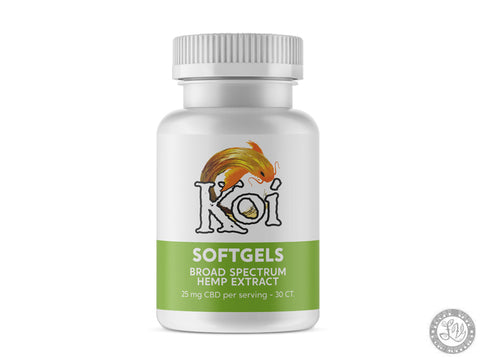 Koi Hemp Extract CBD Softgels – Regular
