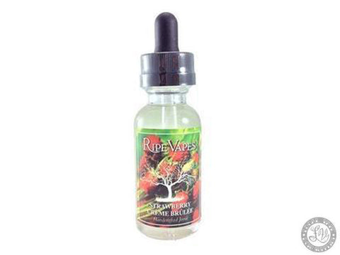 Ripe Vapes Handcrafted Joose - Strawberry Creme Brulee - 60ml
