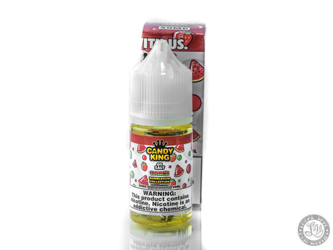 Candy King on Salt Bubblegum Collection - Strawberry Watermelon - 30ml