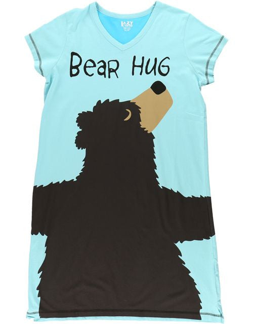 bbe9bff956 Nightshirt V Neck Bear Hug – Boogerbear Punkinpooh Kids Clothes