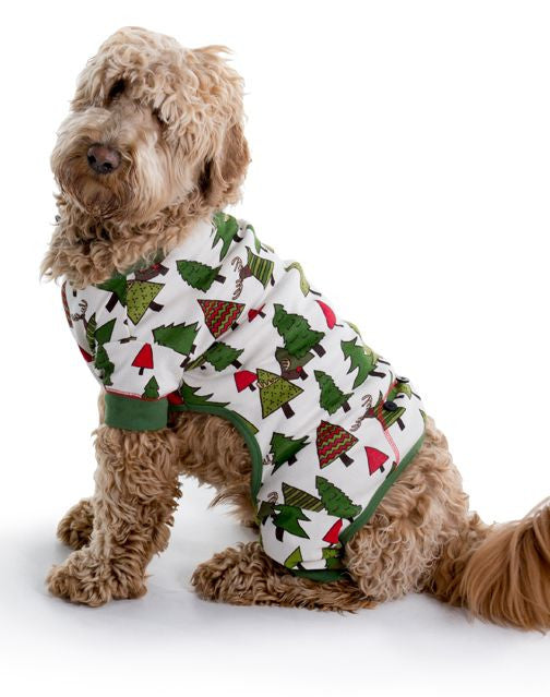 Christmas Pajamas For Dog.Family Christmas Pajamas Flapjacks Dog Moose No Peeking