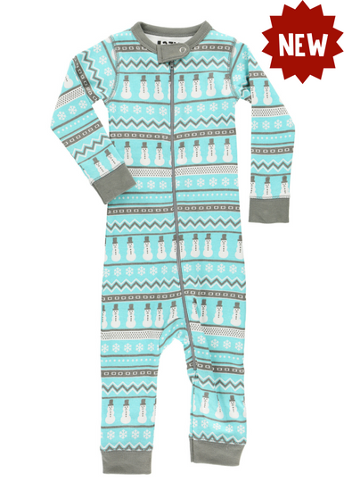 f24b4571e3 Nordic Snowman Christmas Family Pajamas Infant Pj s MOMMY AND ME