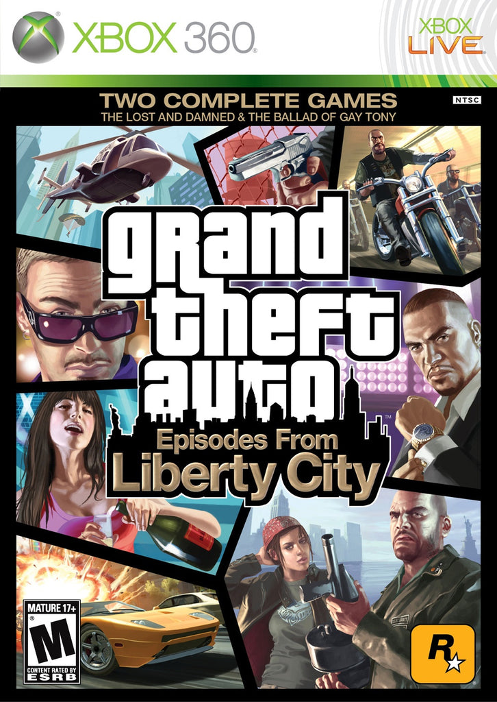 Xbox 360 Grand Theft Auto Episodes From Liberty City