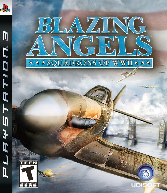PlayStation 3 Blazing Angels Squadrons of WWII
