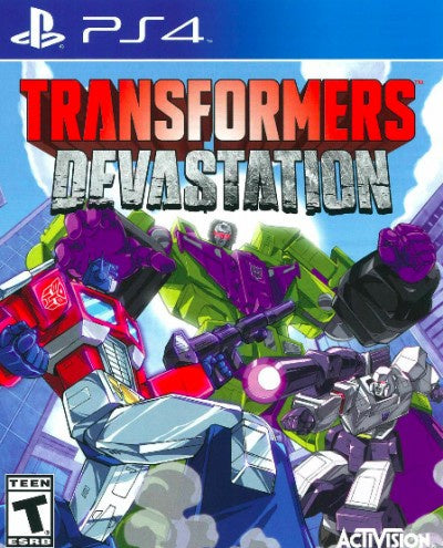 PlayStation 4 Transformers Devastation