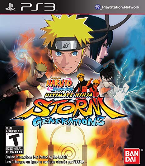 PlayStation 3 Naruto Shippuden: Ultimate Ninja Storm Generations