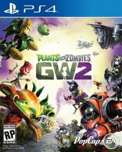 PlayStation 4 Plants vs Zombies Garden Warfare 2