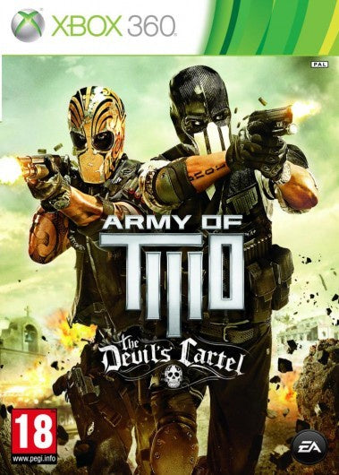 Xbox 360 Army of Two The Devil's Cartel