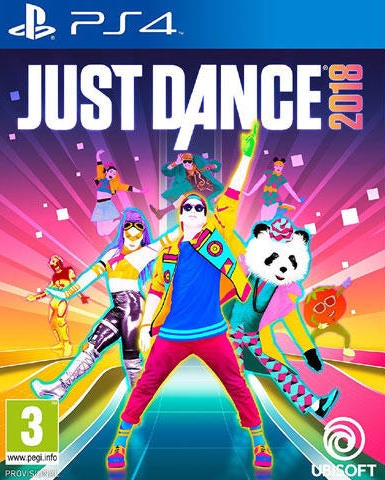 PlayStation 4 Just Dance 2018