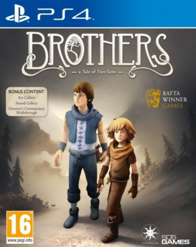 PlayStation 4 Brothers a Tale of Two Sons