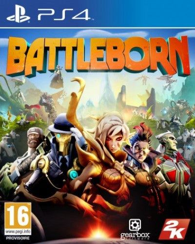 PlayStation 4 Battleborn