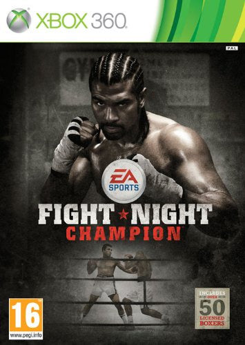 Xbox 360 Fight Night Champion