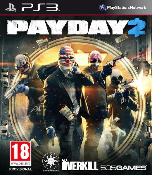 PlayStation 3 PayDay 2