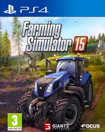 PlayStation 4 Farming Simulator 15