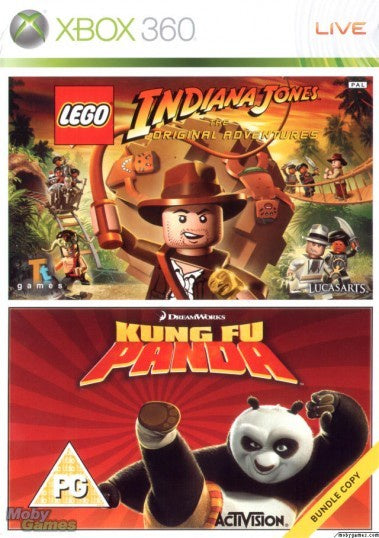 Xbox 360 LEGO Indiana Jones and Kung Fu Panda